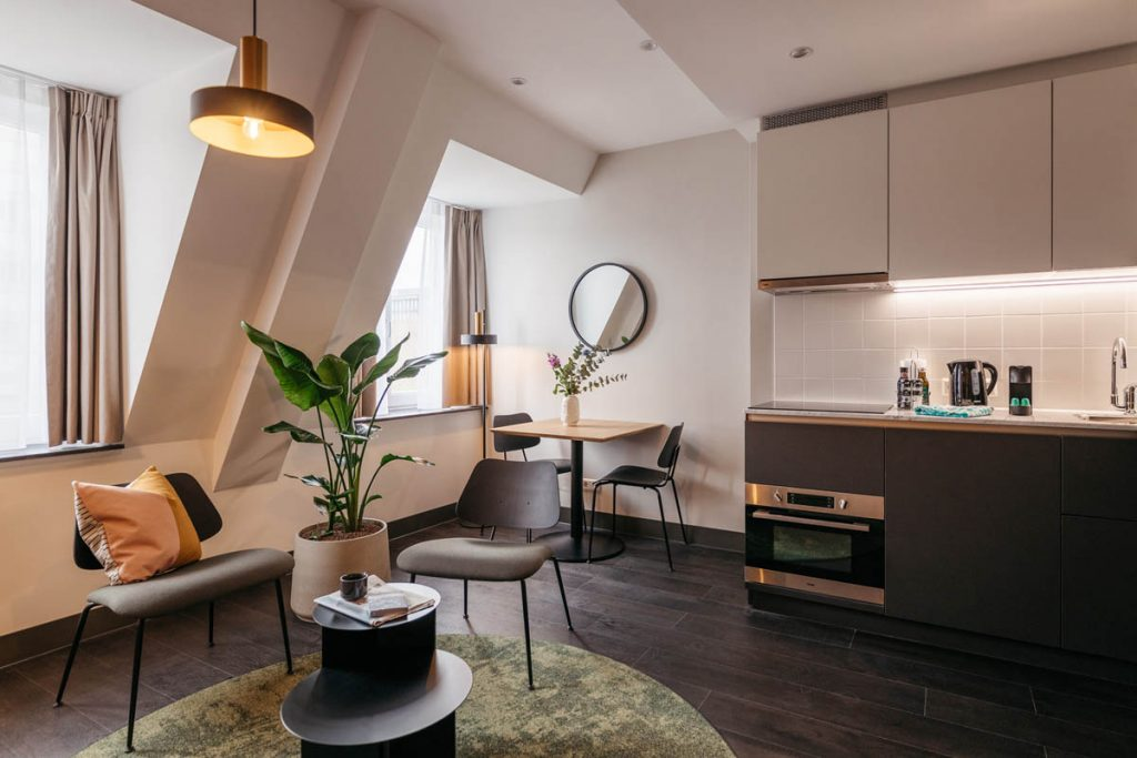 YAYS The Hague Willemspark Studio Apartment