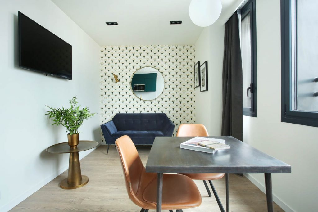 Yays Paris Issy, One Bedroom, Living Room