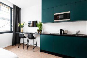 Yays Paris Issy, Studio Comfort, Kitchen