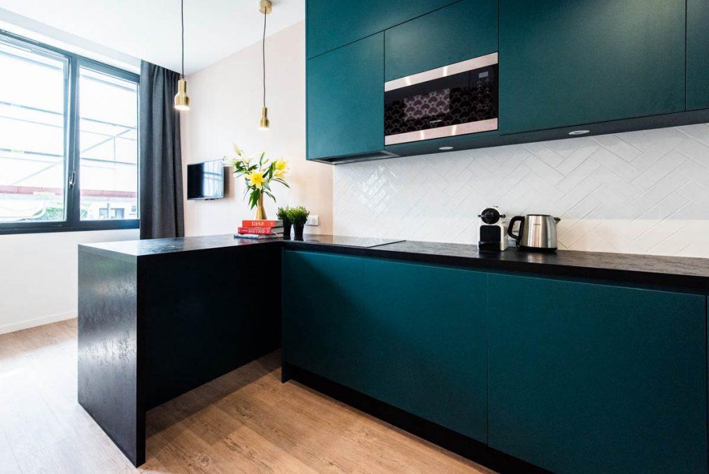 Yays Paris Issy, Duplex One Bedroom, Kitchen