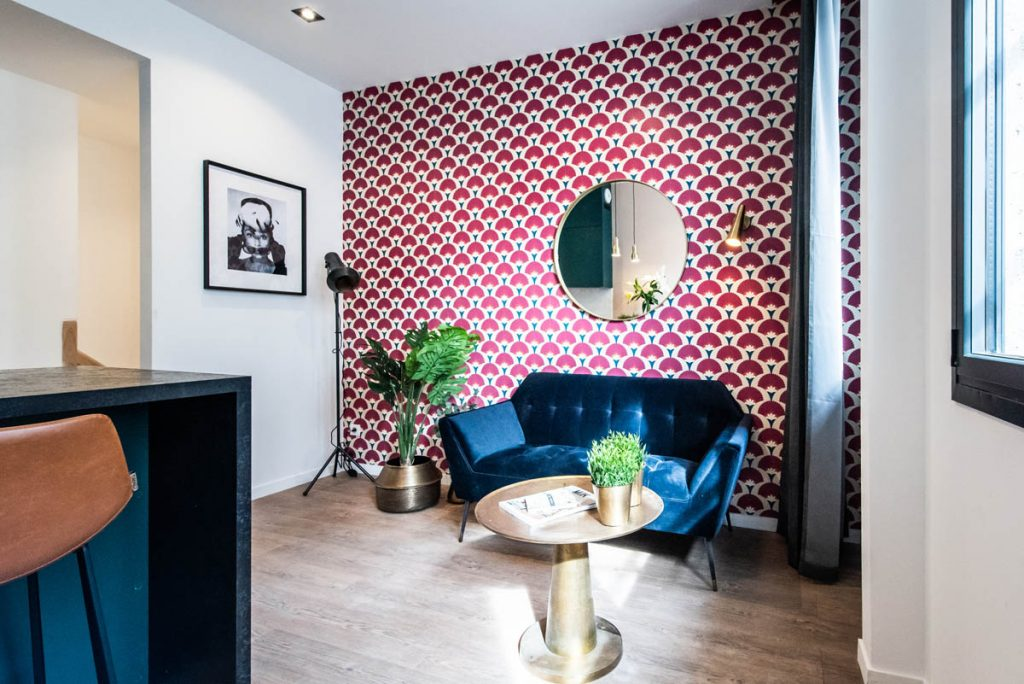 Yays Paris Issy, Duplex One Bedroom, Living Room