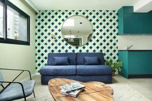 Yays Paris Issy, Two Bedroom, Living Room