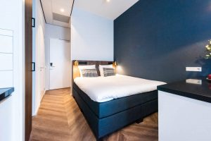 YAYS Amsterdam Docklands, Studio Apartment, Bed