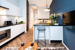 YAYS Amsterdam Docklands, Studio Apartment, Counter