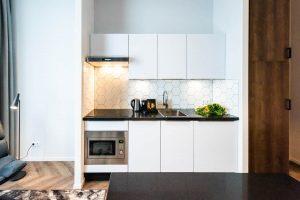 YAYS Amsterdam Docklands, Studio Apartment, Kitchen