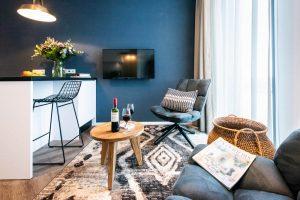 YAYS Amsterdam Docklands, Studio Apartment, Chair