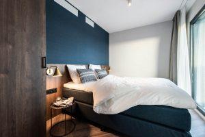 YAYS Amsterdam Docklands, One Bedroom Essential Apartment, Bedroom