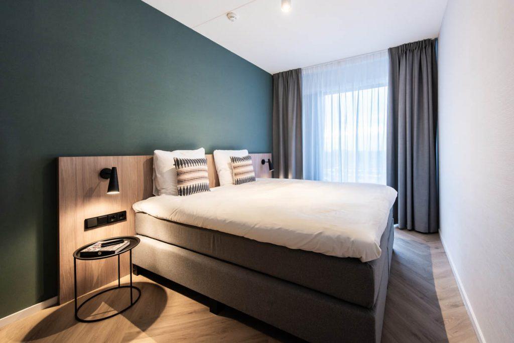 YAYS Amsterdam Docklands, One Bedroom Comfort Apartment, Bedroom
