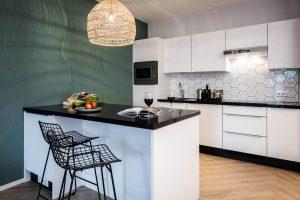 YAYS Amsterdam Docklands, One Bedroom Comfort Apartment, Kitchen