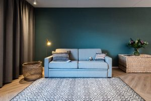 YAYS Amsterdam Docklands, One Bedroom Comfort Apartment, Sofa
