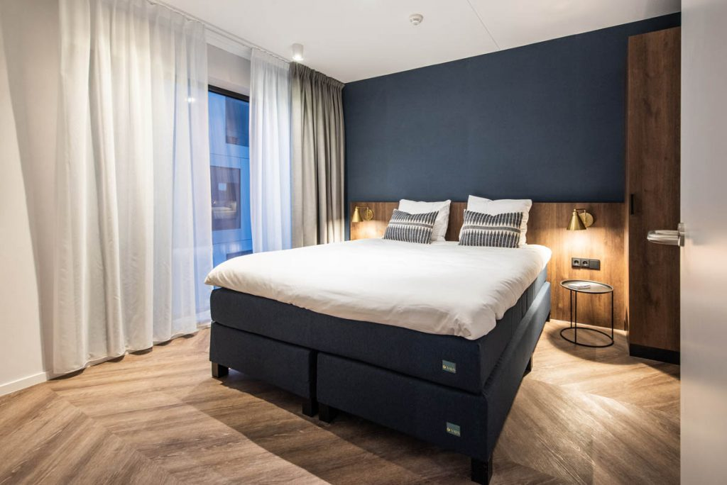 YAYS Amsterdam Docklands, Two Bedroom Apartment, Bedroom
