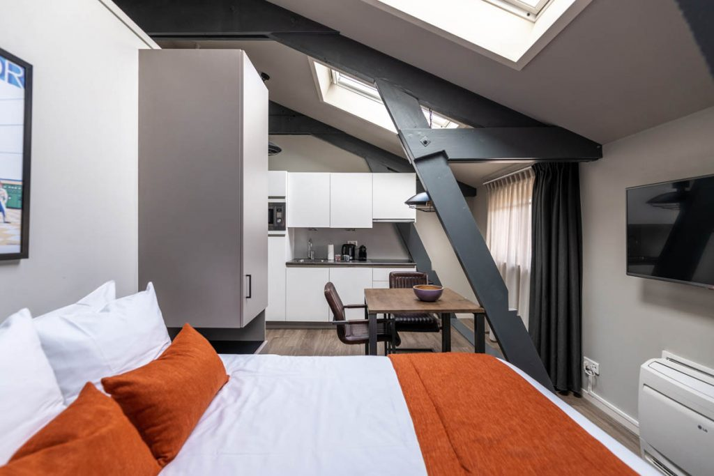 YAYS Amsterdam Maritime, Studio, Bed