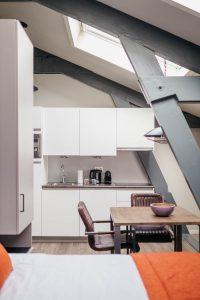 YAYS Amsterdam Maritime, Studio, Kitchen