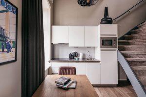 YAYS Amsterdam Maritime, Tower Studio, Kitchen
