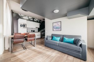 YAYS Amsterdam Maritime, Duplex Studio, Living Room