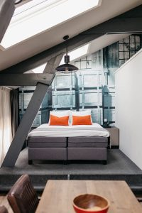 YAYS Amsterdam Maritime, Family Apartment, Bedroom