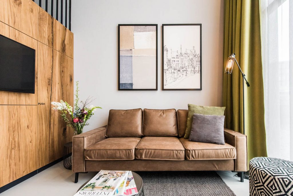 Amsterdam East by YAYS, One Bedroom Apartment, Sofa