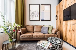 Amsterdam East by YAYS, One Bedroom Access Apartment, Sofa