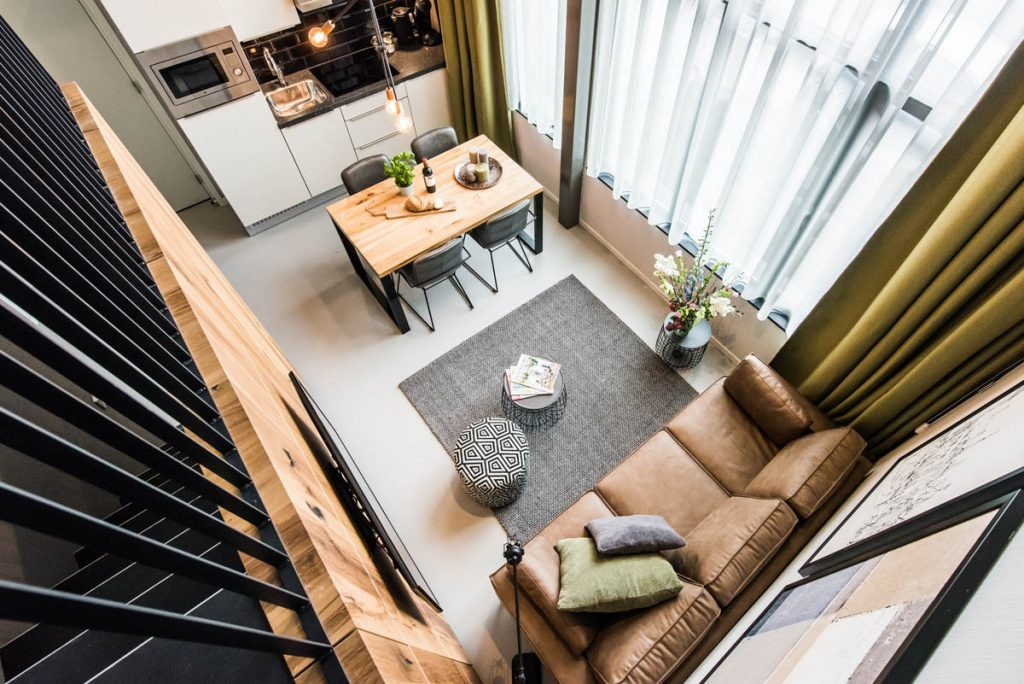 Amsterdam East by YAYS, One Bedroom Access Apartment, Living Room