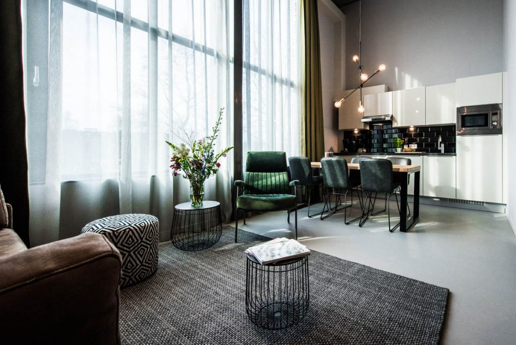 Amsterdam East by YAYS, One Bedroom Apartment, Living Room