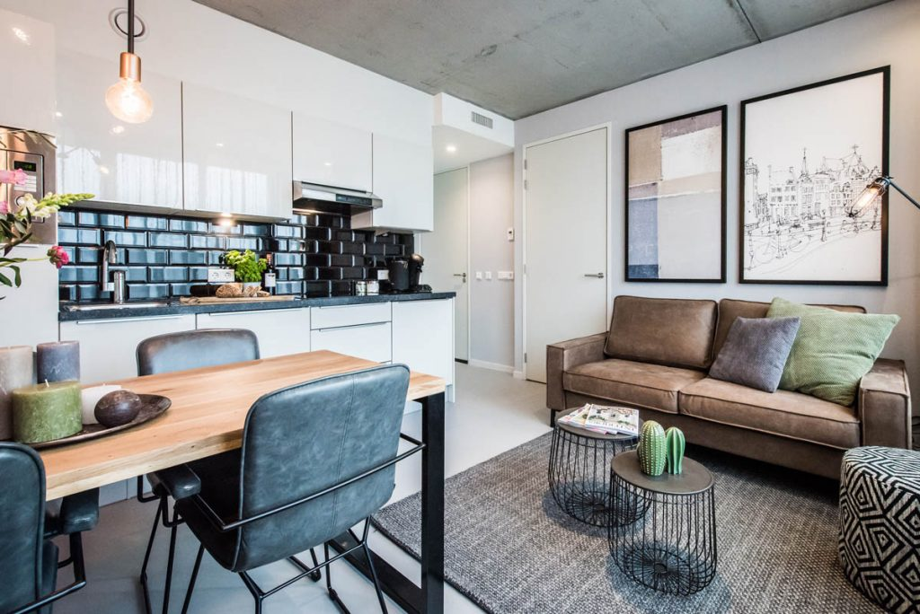 Amsterdam East by YAYS, Two Bedroom Apartment, Living Room