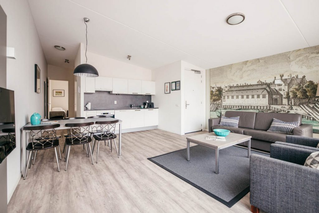 Amsterdam Prince Island by YAYS, Two Bedroom, Living Room