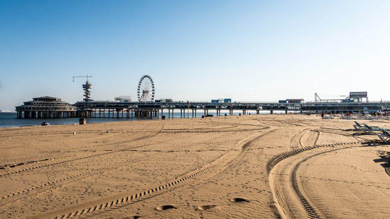 The Hague, Scheveningen Beach, Pier