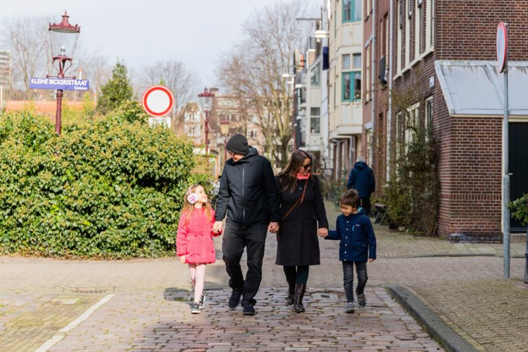 family with kids in Amsterdam